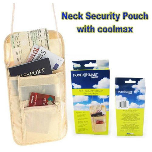 Neck Security Pouch Strap Bag