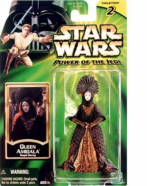 Star Wars Power of The Jedi Action Figure - Queen Amidala - Royal Decoy ()