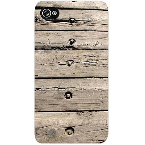 Coque Apple Iphone 4-4s - Planches de Bois