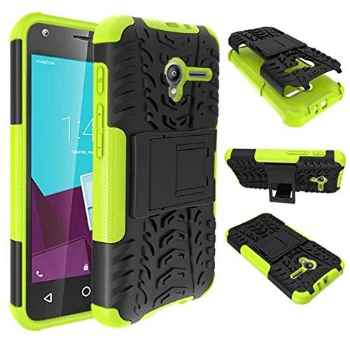 Vodafone Smart Speed 6 VF795 Funda Case, Moonmini® Caso de la cubierta protectora Ultra delgado Combo prueba de golpes Protección gota para Vodafone Smart Speed 6 VF795, Verde