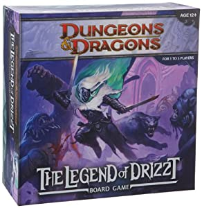 Wizards Of The Coast Legend Of Drizzt A Dungeons And Dragons Board Game by Wizards of the Coast