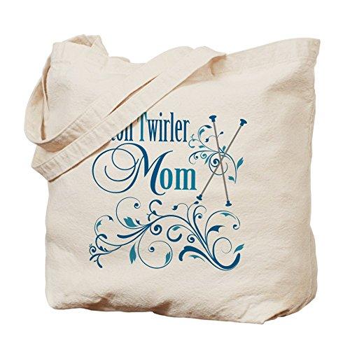 CafePress–Baton Twirler gamuza de mamá–lona bolso, bolsa de la compra