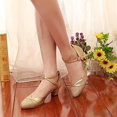 Minitoo de Salón Mujer Gold-5cm Heel