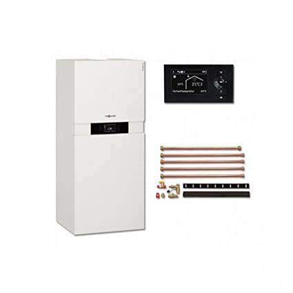 Viessmann VITODENS 222 de F 13 kW vitot Electronic 200 del paquete Gas condensación calentador compacto