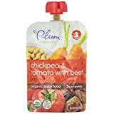 Plum Organics Baby Food Stage 3 Chickpea & Tomato with Beef & Cumin -- 4 oz