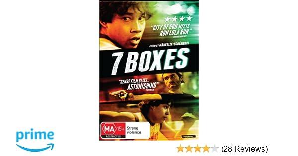 Amazon.com: 7 Boxes (7 cajas)  (Seven Boxes)  [ NON-USA FORMAT, PAL, Reg.0 Import - Australia ]: Celso Franco, Víctor Sosa, Lali Gonzalez, Nico García, ...