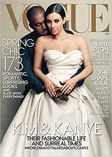 Vogue Magazine April 2014 - Kanye West & Kim Kardashian - Historic ...