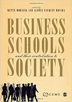 Book Business Schools and their Contribution to Society