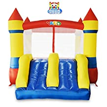 YARD Inflatable Bounce House Bouncy Castle Bouncer Jumper Slide with Blower
