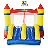 bounce house commercial - YARD Bounce House Dual Slide with Blower Indoor Outdoor Moonwalk Inflatable Bouncer Made of Nylon and Vinyl 12.1'x8.5'x6.9'