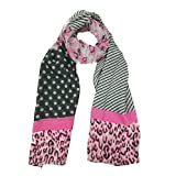 Elegant Fashion Chiffon Print scarf Lightweight And Soft for Summer