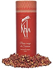 KHLA – Rode Sichuan peper in korrel – Fairtrade – tube 50 g categorie A – hele peperkorrels