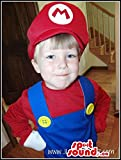 Super Mario Bros. Well-Known Video Game Children Costume
