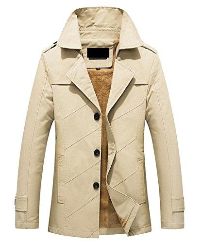 Men's Cotton Jacket Outdoor Collar Windbreaker Thicken 8 Gocgt Stand Z1qpp