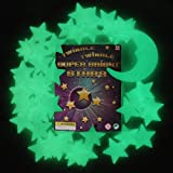 Twinkle Twinkle Super Bright Stars - The Ultimate Glow-in-the-Dark Stars - 49 Stars & 1 Moon