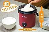 Rice Cooker Small KC-2628 by Kumazaki