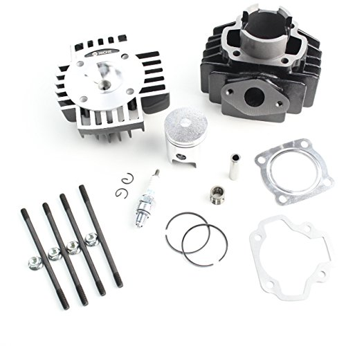 NICHE Cylinder Piston Gasket Head Top End Kit for Yamaha PW50 1981-2018
