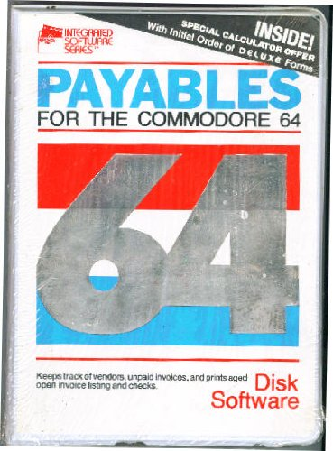 Amazon com: Commodore 64 / 128 Payroll System Software for