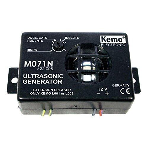 Kemo Electronic M071N Ultrasonic Noise Generator Vermin Repeller
