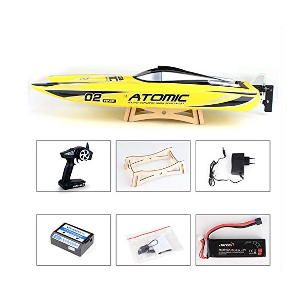 27 6-Inches Remote Control High Speed Racing Boat S011 Oversized