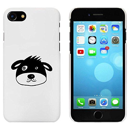 Blanc 'Tête de Chien' étui / housse pour iPhone 7 (MC00090477)