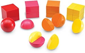 Learning Resources Magnetic 3D Fraction Shapes