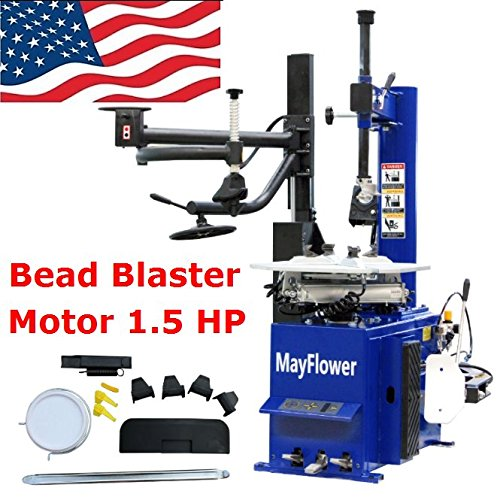 - Mayflower - Automatic Assist Arm Tire Changer Wheel Changers Machine Rim Clamp 960 Bead Blaster / 1 Year Full Warranty