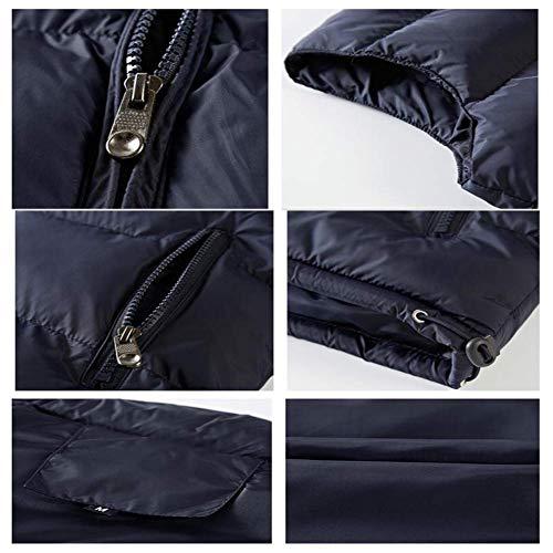 Zip 2xl Taille Bleu Warm Fuweiencore Bleu Jacket Color amp; Gilet Pour Guard coloré Solid Léger Youth Homme Gilet Hommes Xl wZznwpq