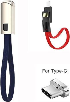 H&T Cable De Cargador Portátil Tipo C, Cable De Cargador USB C ...