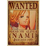 2018 Latest One Piece D Luffy Wanted Wall