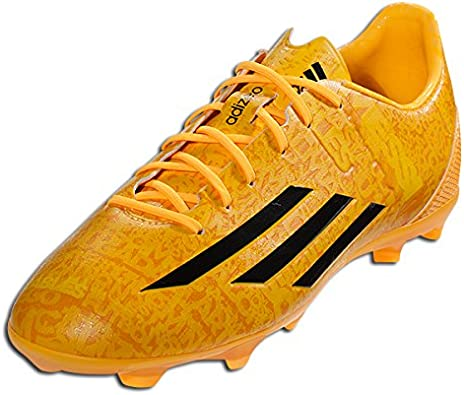 Amazon Com Adidas F50 Adizero Junior Lionel Messi Soccer Cleat Solar Gold Sz 3 5 Soccer