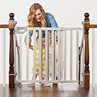 Summer Infant Banister & Stair Safety Gate with Extra Wide Door