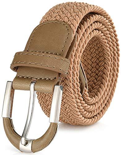 Marino Braided Stretch Belt - Fabric Woven Belt - Casual Wea