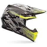 Bell Moto-9 Yellow Camo Adult Helmet Yellow Camo/Black LG