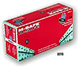 (20 Boxes) Majestic POWDER FREE DISPOSABLE NITRILE GLOVES, 100/BOX - 2X LARGE(3273/12)