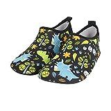Bmeigo Kids Toddler Water Shoes Barefoot Quick-Dry Aqua Skin Socks for Girls Boys Beach Pool Swim Diving Surf Sand Yoga Exercise Indoor Shoes