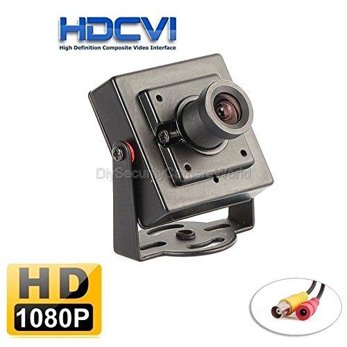 2MP HDCVI 1080P 2.8mm Lens Super Mini Size 40mm(L)x40mm(H)x23mm(W) CCTV CVI Hidden HD Camera for HDCVI DVR