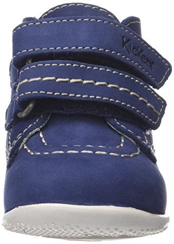 Bébé Boncro Bébé Garçon Kickers Bleu Marche Bleu Chaussures UpwCpIqdx