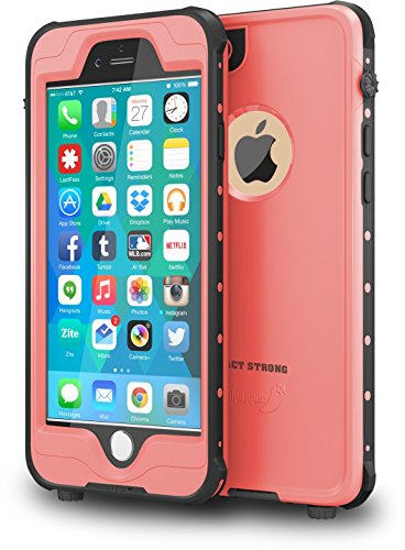 Waterproof and Shockproof Case for iPhone 6/6s (Pink) - 2