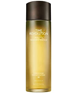 MISSHA Time Revolution Artemisia Treatment Essence 150ml-Double Fermented Artemisia Extract for Soothing Care and Natural Moisturization
