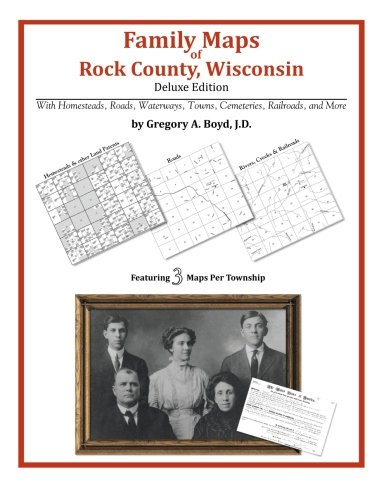 - Family Maps of Rock County, Wisconsin