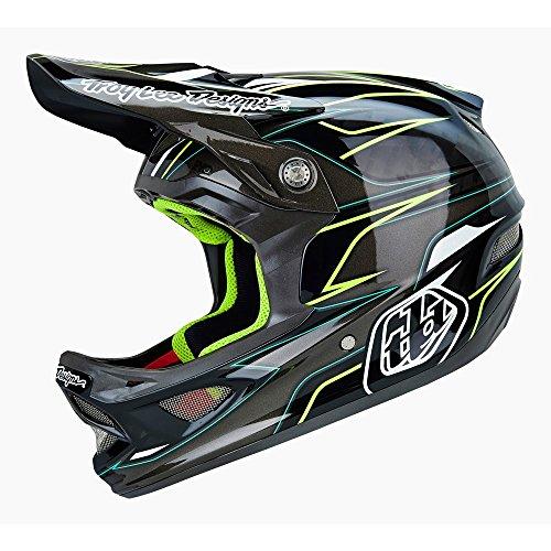 2015 Troy Lee Designs D3 EVO Carbon Fiber Bicycle Helmet (M)