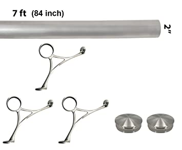 Awesome Stainless Steel Bar Foot Rail Kits