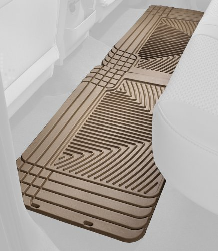 Weathertech 2005 Lincoln Aviator - WeatherTech All-Weather Trim to Fit Rear Rubber Mats, Tan - W70TN