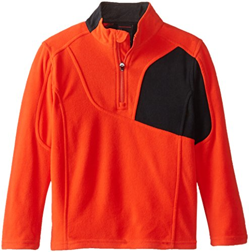 Spyder Little Boys' Speed Half Zip Fleece Jacket, Volcano...
