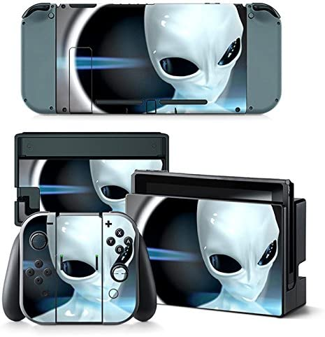 Nintendo Switch Skin Design Foils Faceplate Set - Alien Motivo ...