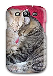 For Galaxy S3 Tpu Phone Case Cover(cats Cuddling)