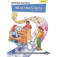 All-in-One Course for Children: Lesson, Theory, Solo, Book 4 (Alfred's Basic Piano Library) book cover