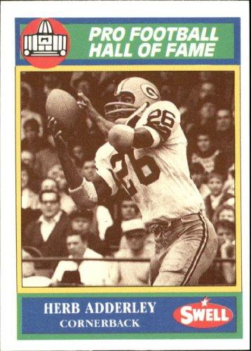 (1990 Swell Greats Football Card #103 Herb Adderley Mint)