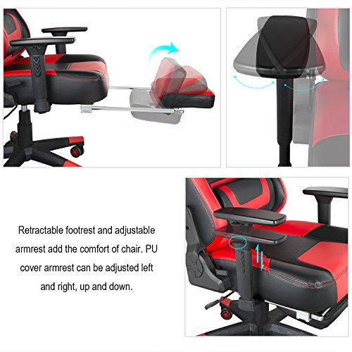 Greenforest Gaming Chair Ergonomic Reclining Lock Computer